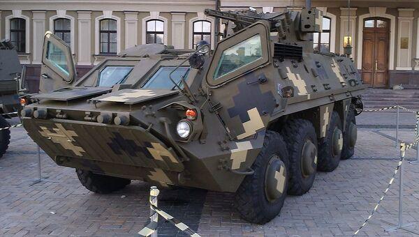 Украинский БТР-4 Буцефал. Архивное фото