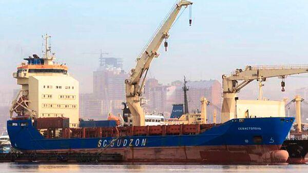 Многоцелевое грузовое судно Севастополь