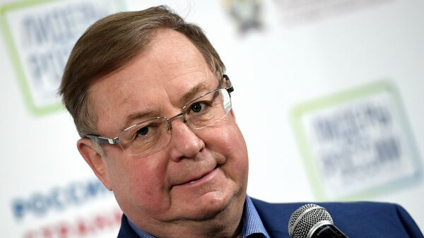 Президент Российского книжного союза Сергей Степашин