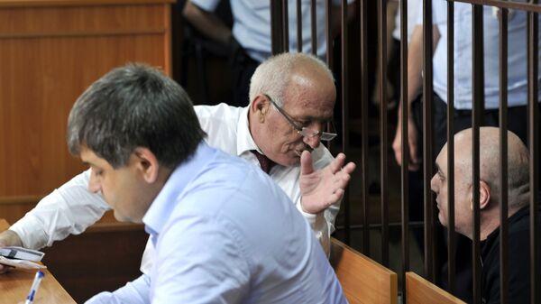 Бывший мэр Махачкалы Муса Мусаев на заседании Советского районного суда Махачкалы