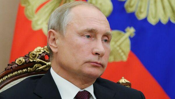 Президент РФ Владимир Путин. 2 октября 2018