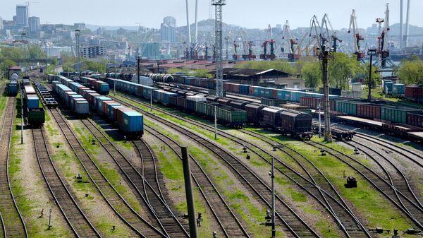 Железнодорожный узел во Владивостоке