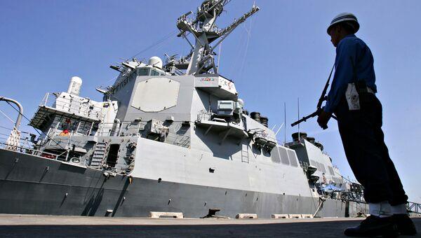Американский эсминц USS Decatur