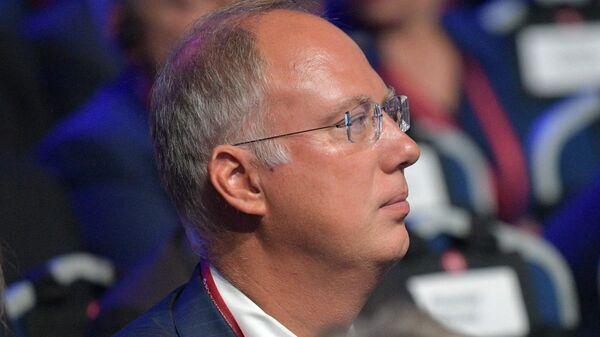 Генеральный директор Российского фонда прямых инвестиций (РФПИ) Кирилл Дмитриев на форуме Российской энергетической неделе. 3 октября 2018