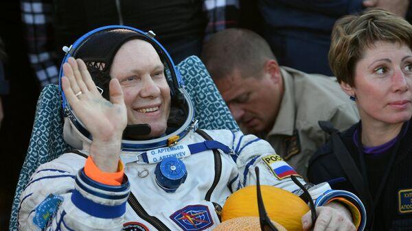 Космонавт Роскосмоса Олег Артемьев