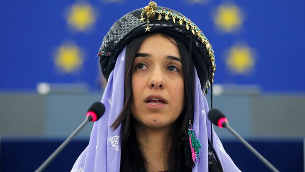 Иракская правозащитница Надя Мурад. Архивное фото