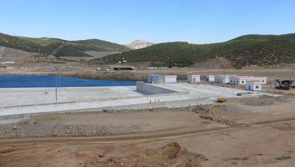 Строительство АЭС Аккую по российскому проекту на юге Турции. Архивное фото