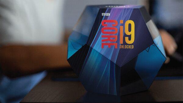 Упаковка, в которой будет поставляться новый процессор Core девятого поколения компании Intel