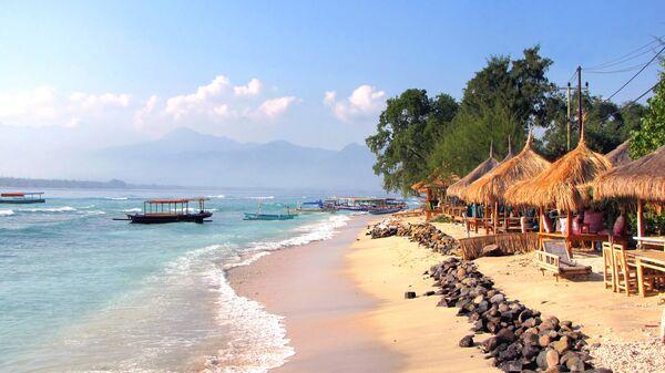 Пляж на острове Бали