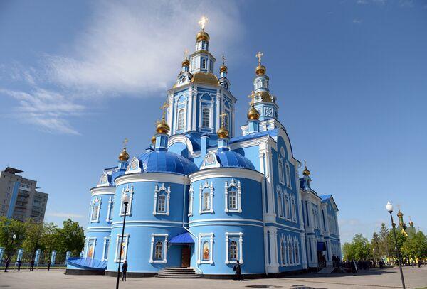 Спасо-Вознесенский кафедральный собор в Ульяновске