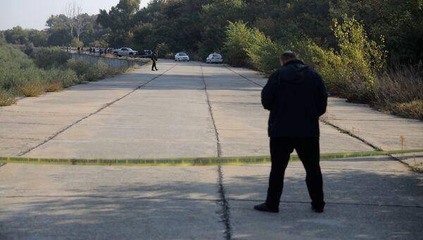 Место убийства болгарской журналистки Виктории Мариновой в городе Русе