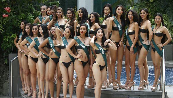 Участницы конкурса Мисс Земля 2018 в Маниле, Филиппины