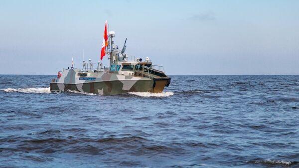 Патрульный катера Раптор, принятый в состав ВМФ РФ