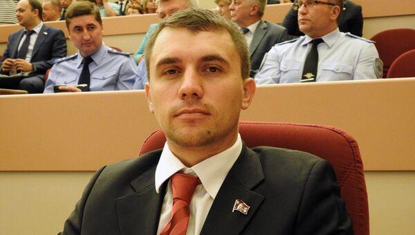 Депутат Саратовской областной думы от КПРФ Николай Бондаренко. Архивное фото