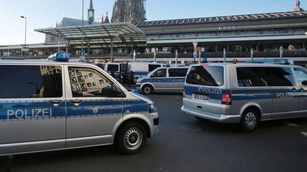Полицейские автомобили в Германии