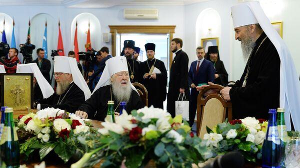Заседание Священного Синода РПЦ. Архивное фото