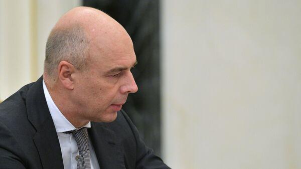 Министр финансов РФ Антон Силуанов на совещании по экономическим вопросам. 16 октября 2018