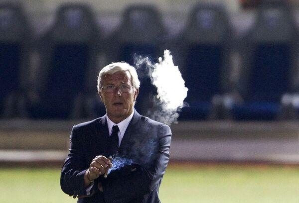 Главный тренер сборной Италии Марчелло Липпи