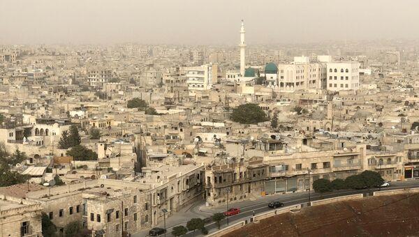 Город Алеппо в Сирии. Архивное фото