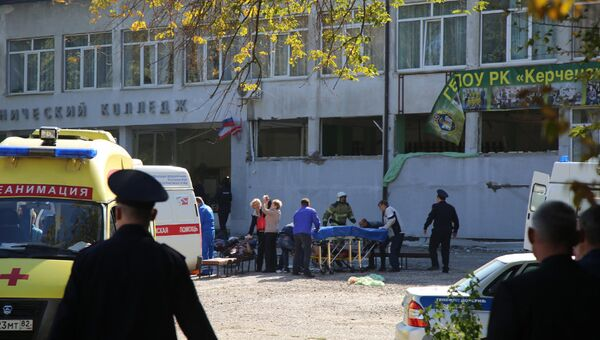Нападение на политехнический колледж в Керчи. Архивное фото