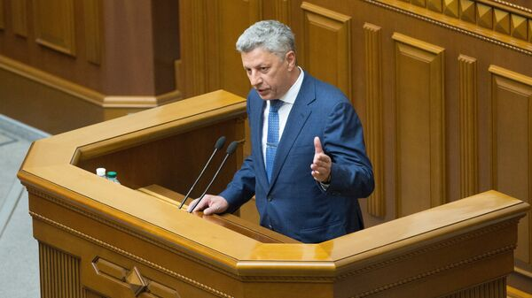 Депутат Юрий Бойко