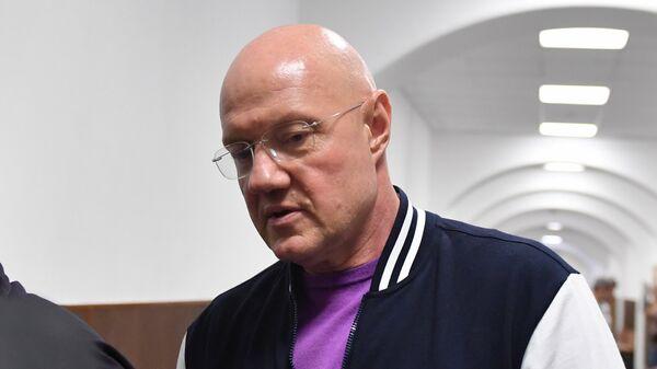 Виталий Нахлупин в суде