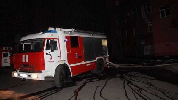 Пожар в развлекательном центре