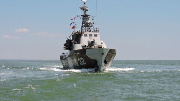 Сторожевой корабль ВМС Украины Донбасс