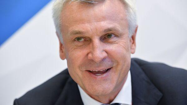 Губернатор Магаданской области Сергей Носов на ВЭФ-2018