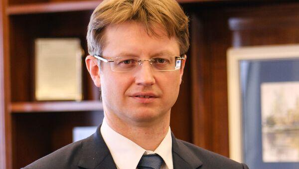 Исполнительный директор АО Российские космические системы (входит в Роскосмос) Константин Емельянов