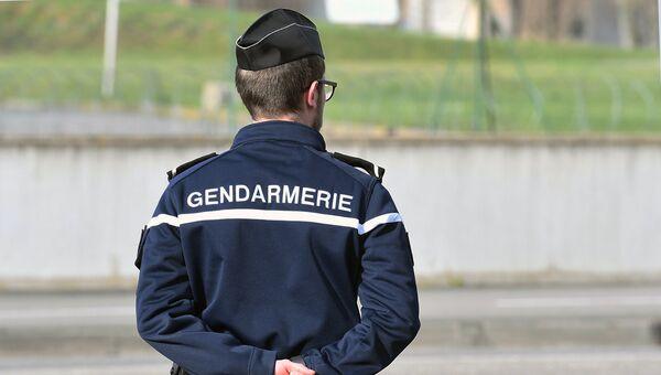 Сотрудник правоохранительных органов Франции. Архивное фото