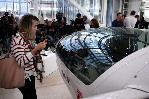 Презентация прототипа электросамолета для кругосветного полета