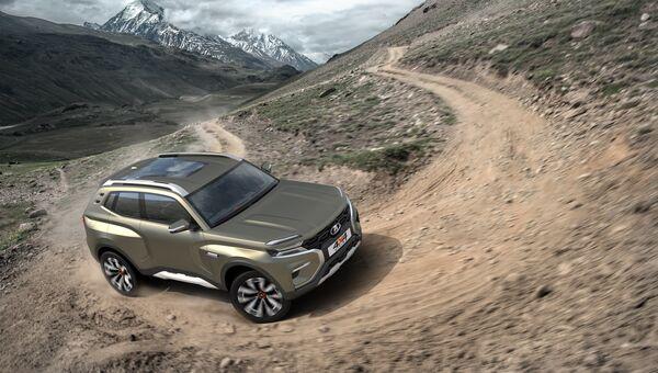 Концепт Lada 4x4 Vision