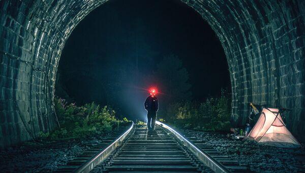 Ночевка в тоннеле Столбы - 2