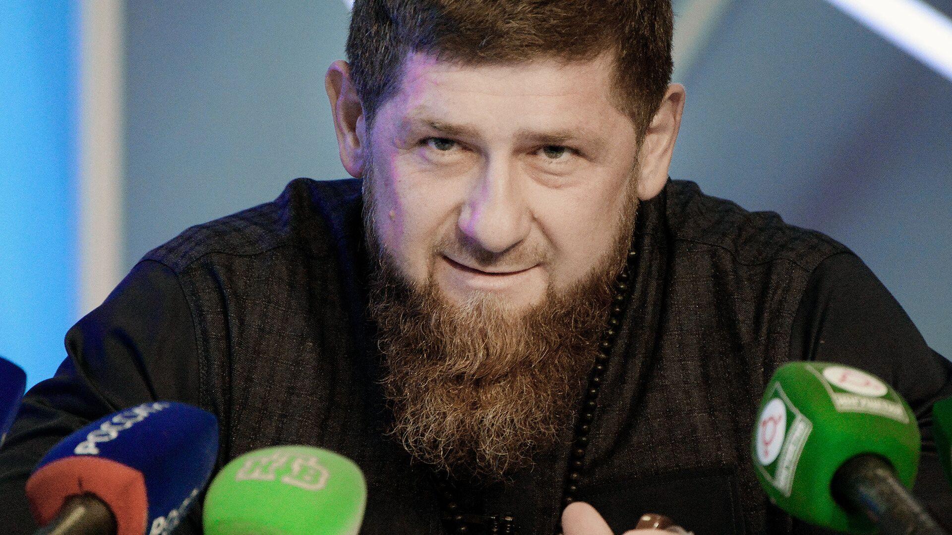 Глава Чеченской Республики Рамзан Кадыров - РИА Новости, 1920, 18.06.2020
