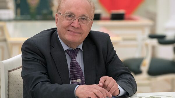 Ректор Московского государственного университета имени М.В. Ломоносова Виктор Садовничий