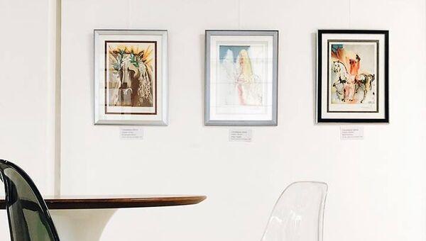 Выставка работ Сальвадора Дали в Международном центре искусств Главный проспект