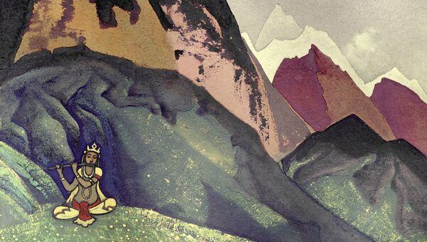 Картина Николая Рериха Кришна