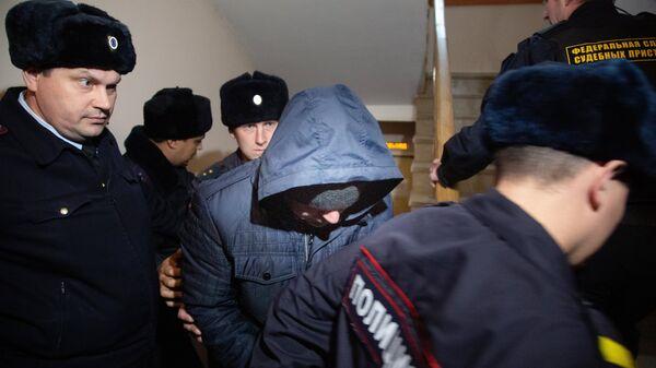 Бывший сотрудник полиции Эдуард Матвеев, обвиняемый в изнасиловании девушки-дознавателя