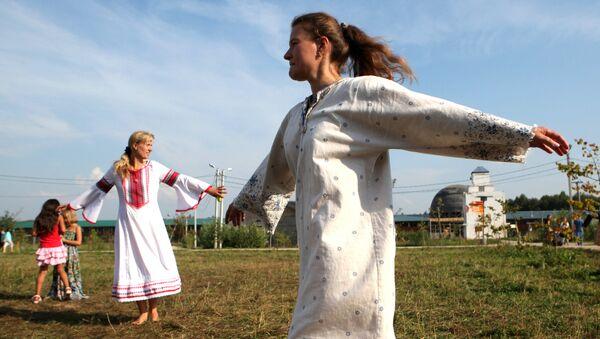 Праздник в культурно-образовательном туристическом центре Этномир