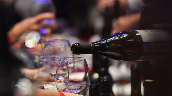 На фестивале вина . Архивное фото