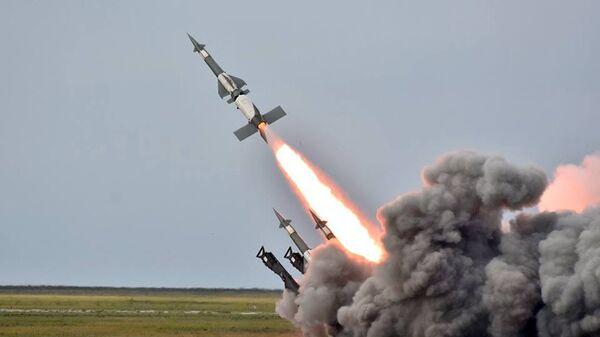 Ракетные учения в Херсонской области, Украина