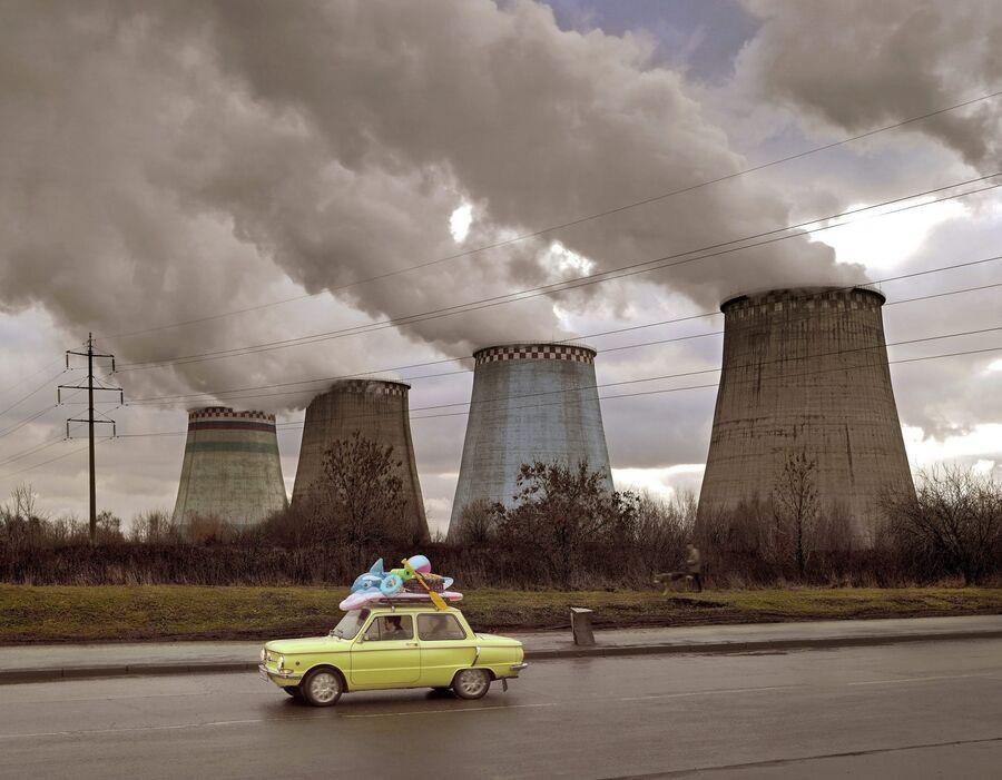Работа немецкого фотографа Фрэнка Херфорта «Отпуск»