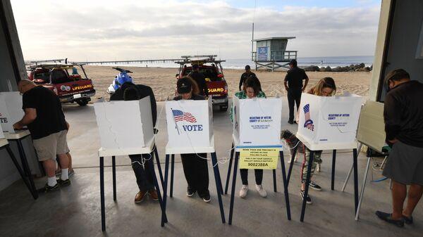 Голосование на промежуточных выборах в конгресс США в Калифорнии