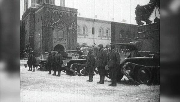 С парада – на передовую. Съемки 7 ноября 1941 года