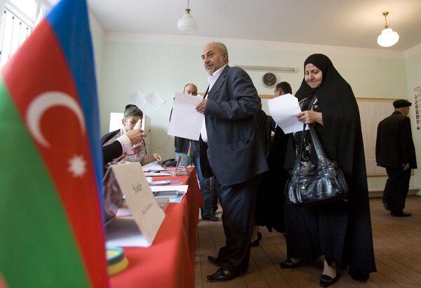 Выборы президента страны в Азербайджане