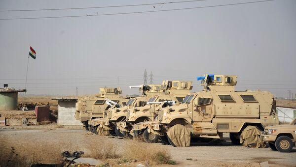 Военная техника курдской пешмерга