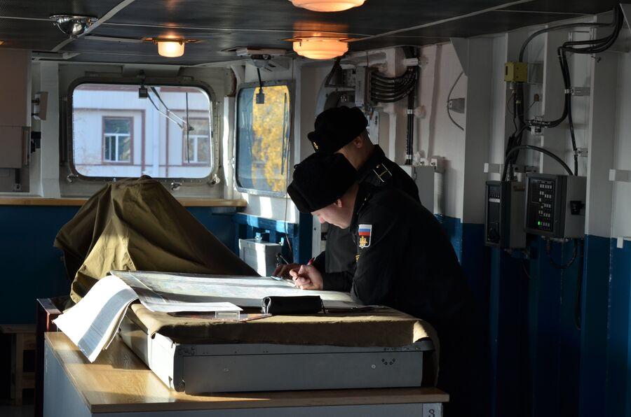 Ходовая рубка фрегата  «Адмирал флота Касатонов»