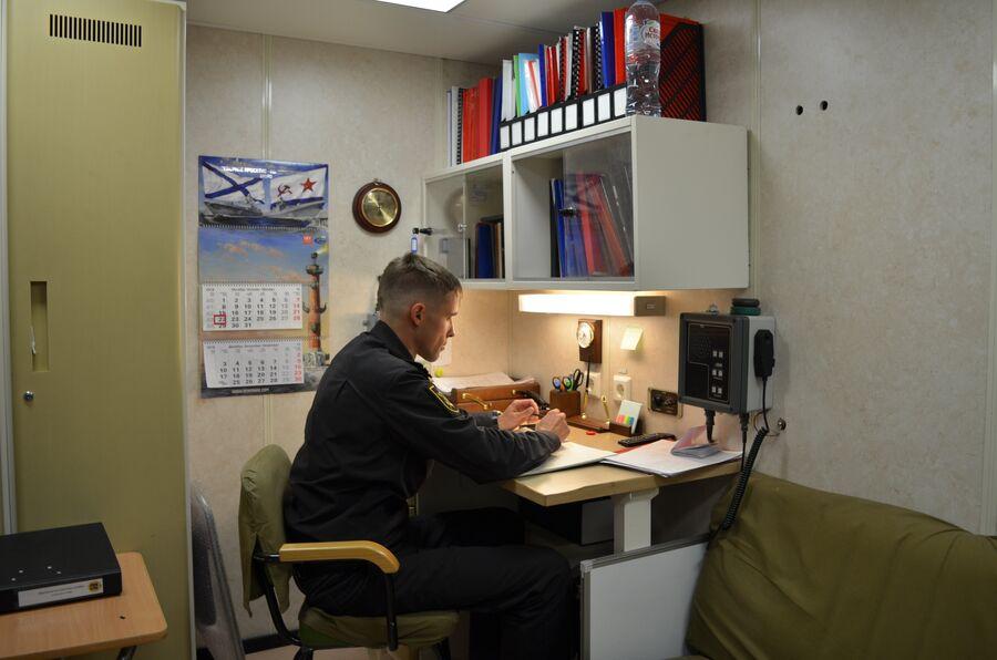 Офицерская каюта фрегата «Адмирал флота Касатонов».
