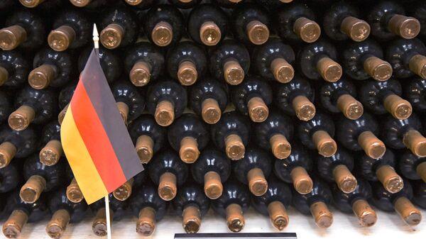 Коллекция вина канцлера Германии Ангелы Меркель в винном подвале Крикова